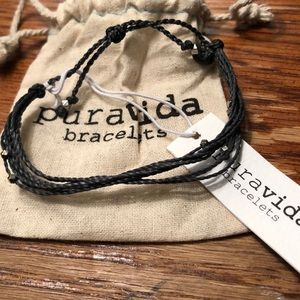 Puravida silver Malibu bracelet NWT
